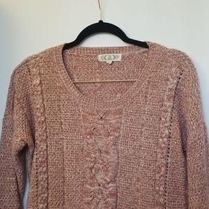 Pink/rose sweater